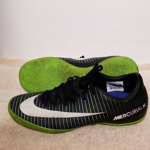 Mens Mercurial X Indoor Soccer Shoes US 9